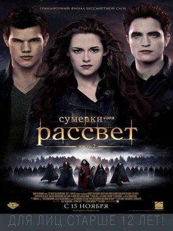Сумерки. Сага. Рассвет: Часть 2 / The Twilight Saga: Breaking Dawn - Part 2 (2012) CAMRip