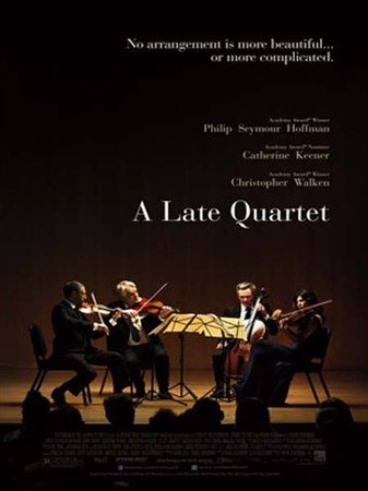 Поздний квартет / A Late Quartet (2012) HDRip